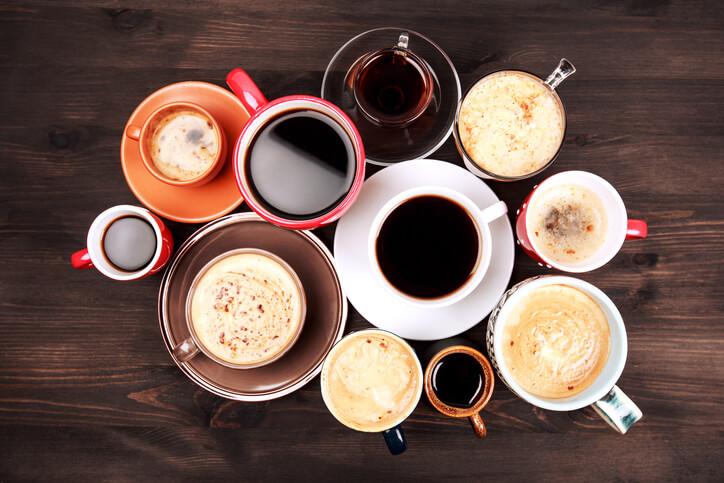Koffein alle steder du kan få koffein