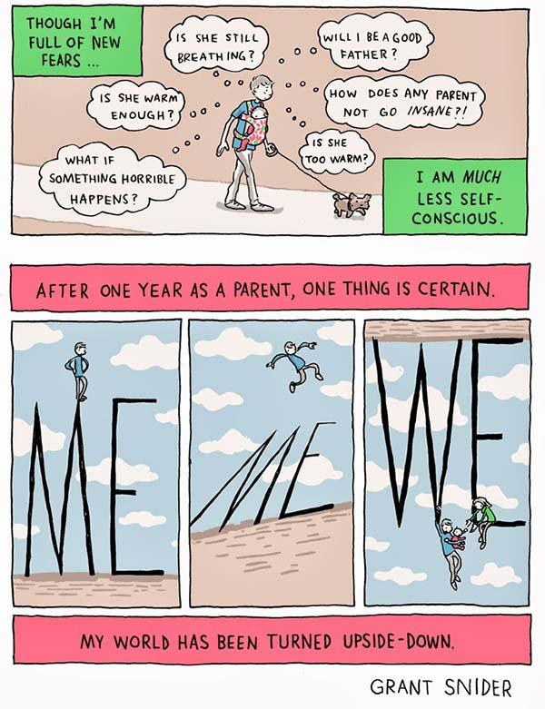 Forældre tegneserie