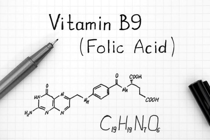 Folinsyre, b9 (kemisk formel), når du planlægger at blive gravid
