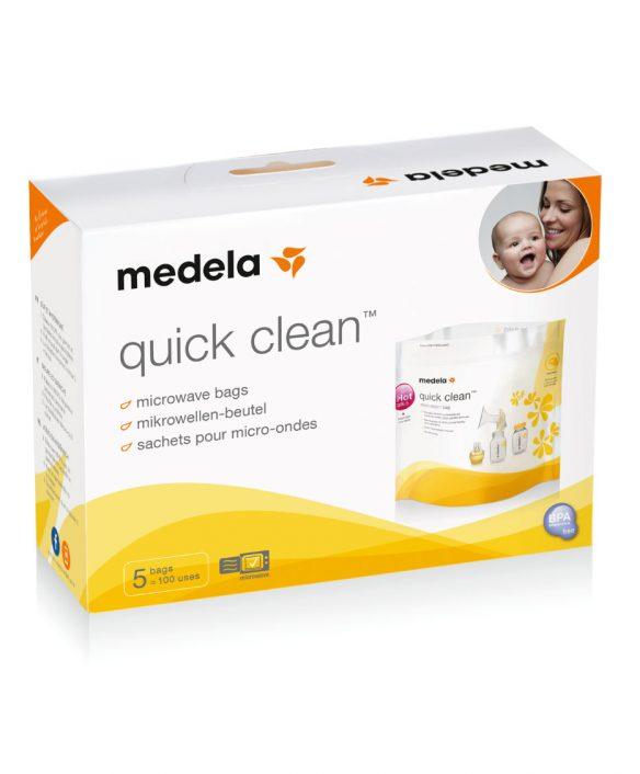 Steriliseringsposer, Quick Clean til mikrobølgeovnen fra Medela