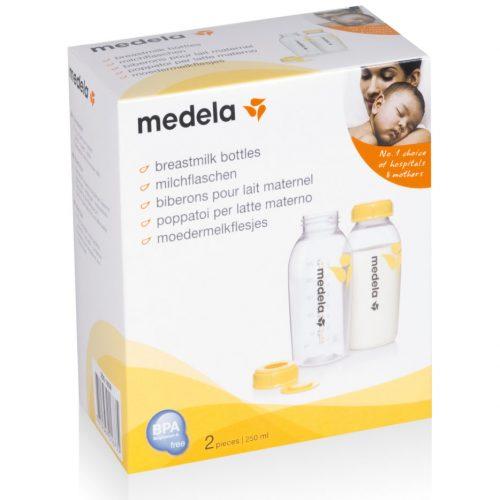 Sutteflaske flasker 250 ml fra Medela (2 stk)