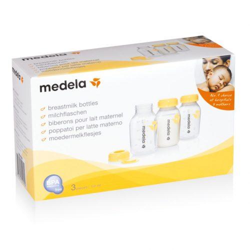 Sutteflaske flasker 150 ml fra Medela (3 stk)