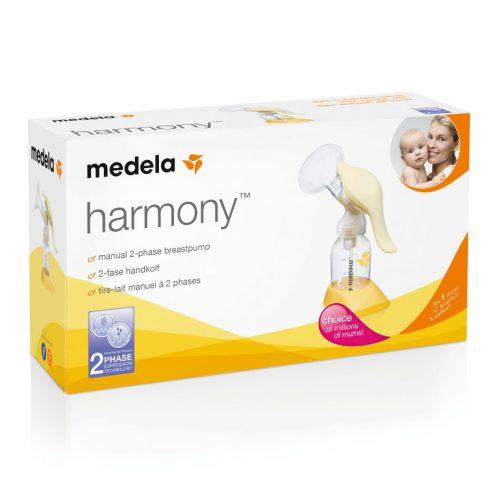 Brystpumpe, manuel enkeltpumpe Harmony fra Medela
