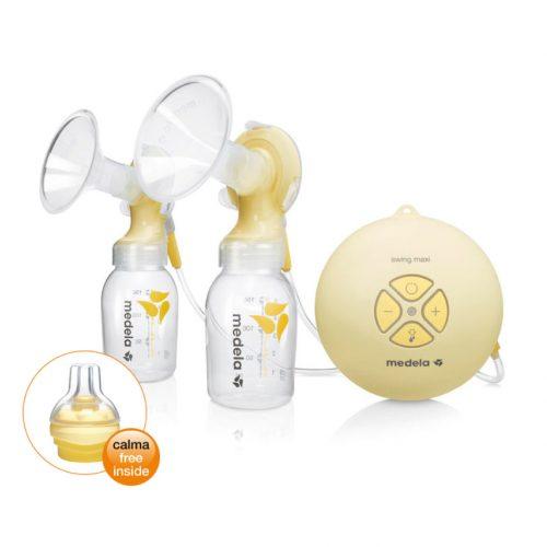 Brystpumpe Medela Swing Maxi – elektrisk dobbeltpumpe