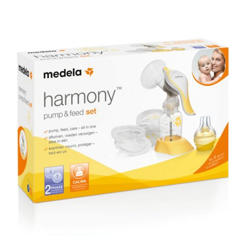 Brystpumpe Harmony fra Medela – manuel enkeltpumpe & calmatop