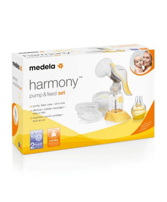 Brystpumpe, manuel enkeltpumpe Harmony & calmatop fra Medela