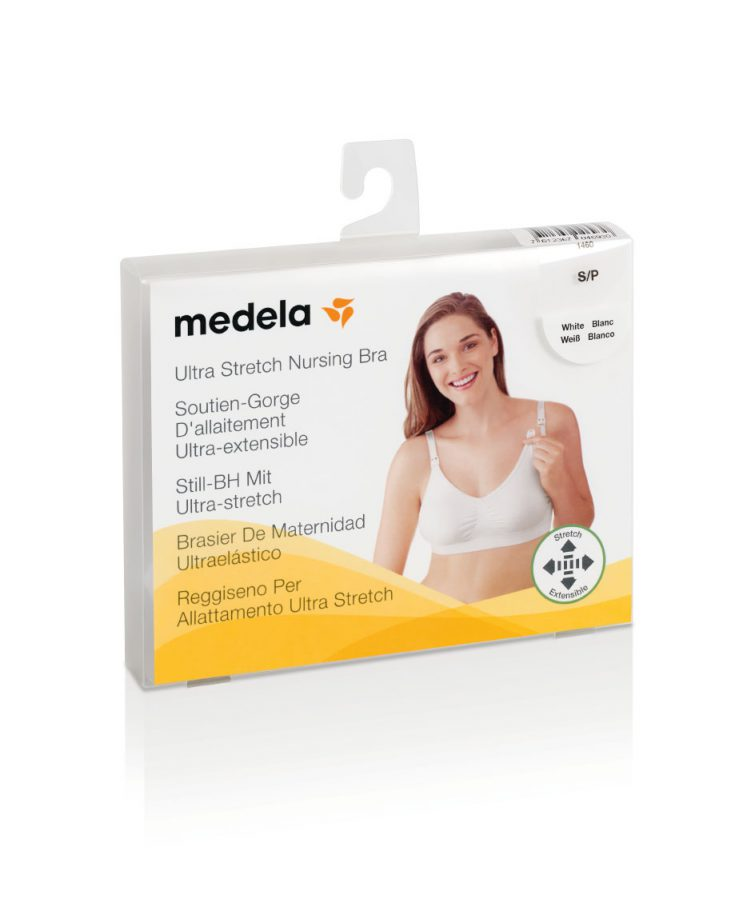 Medela ammebh ultra stretch i hvid
