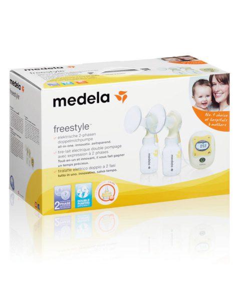 Medela Freestyle brystpumpe – elektrisk dobbeltpumpe