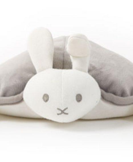 Kanin hygge- og varmepude fra Doomoo
