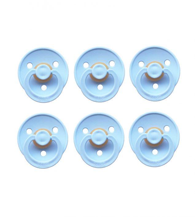 Sutter Bibs blå – lyseblå (6 stk)