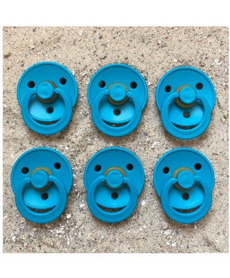 Sutter Bibs blå – petroleum (6 stk)