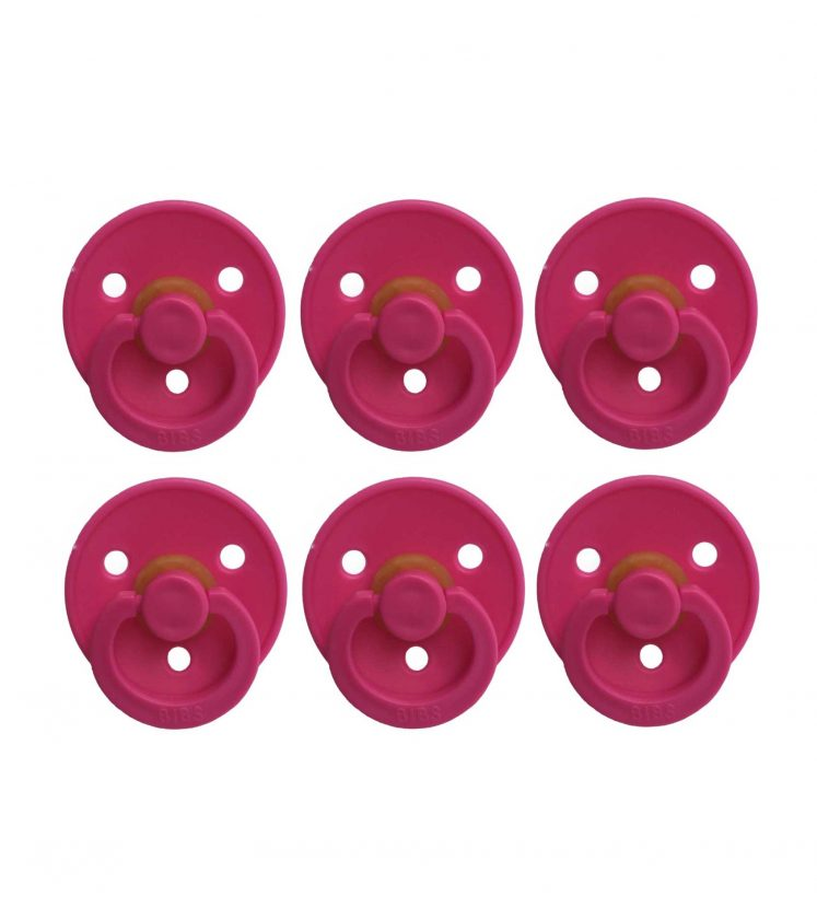Sutter Bibs pink / hindbær(6 stk)