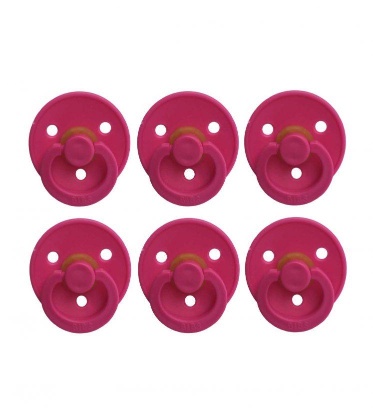 Bibs sutter 6 stk pink
