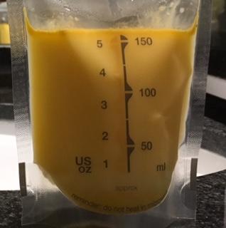 stor mængde råmælk