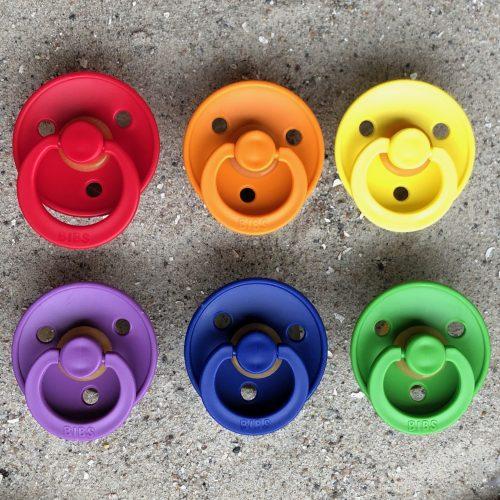 Sutter Bibs 6 stk – Rainbow