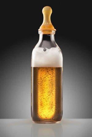 Kan man få mere mælk ved at drikke en øl?