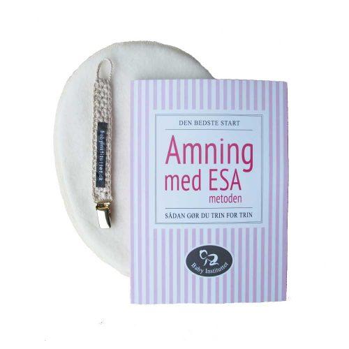 Ammepakke LILLE: Bog, Ammeguide, brystvarmere og suttesnor (gratis fragt)
