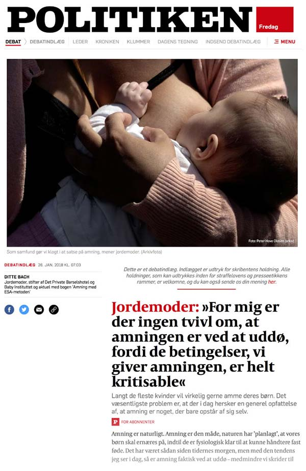 Politikens afsnit om Baby Instituttet og Det Private Barselshotel