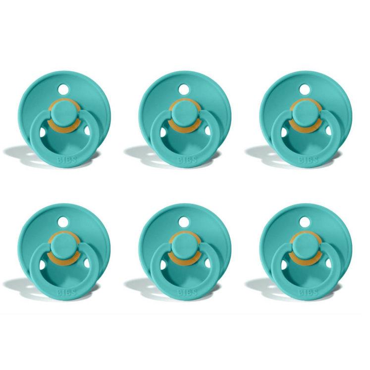 Sutter Bibs Colour – Turquoise (6 stk) str. 2