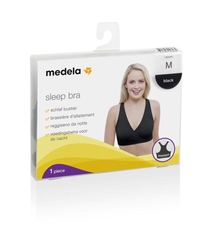 Nat- og amningsbh indpakningen fra Medela.