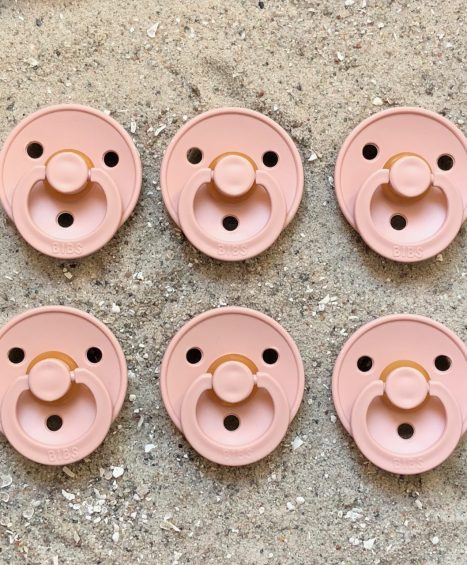 Sutter Bibs rosa / blush (6 stk)