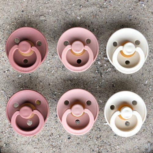 Sutter Bibs 6 stk – pigemix blush