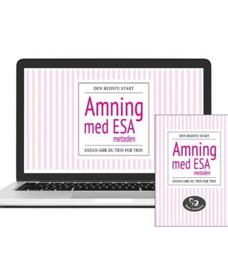Amning med ESA-metoden – pakke med kursus & bog