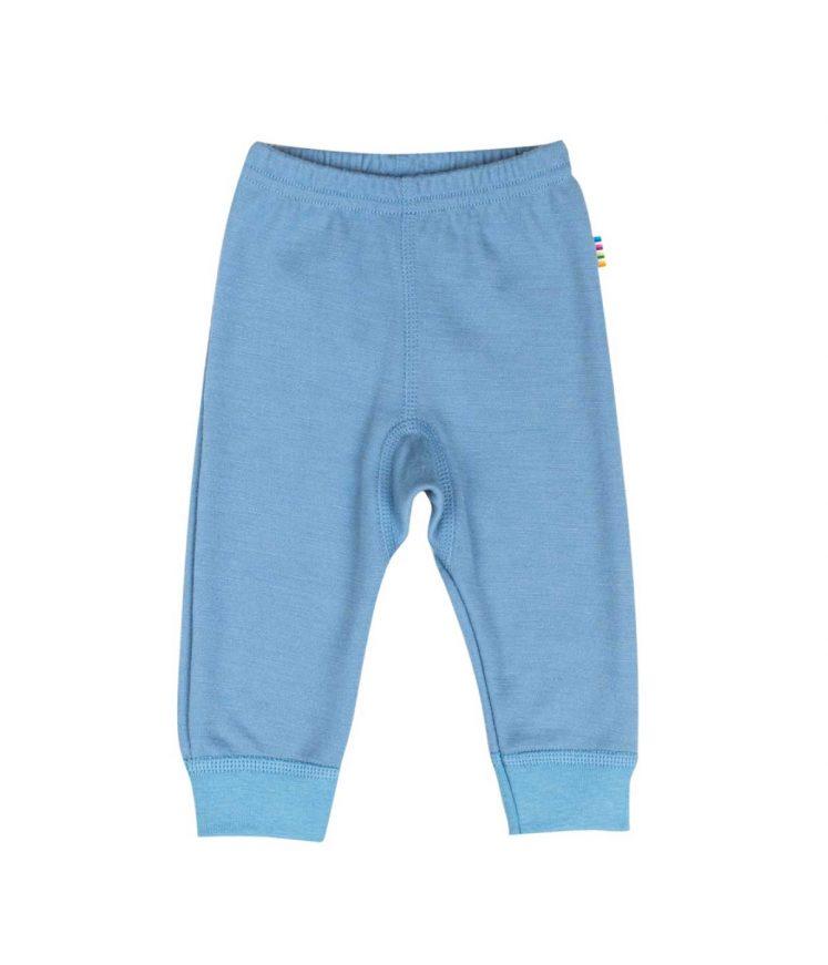 Bukser i uld/bambus lys blå fra Joha