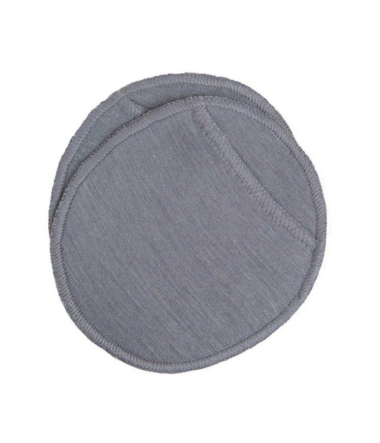 Ammeindlæg uld/silke, grå fra Joha