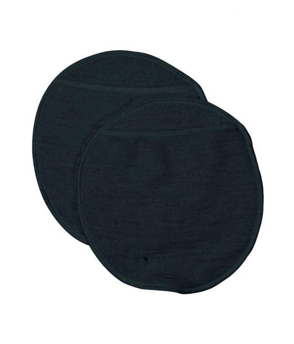 Ammeindlæg i uld, sort fra Joha