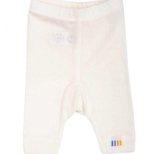 Præmatur bukser i uld, natur fra Joha