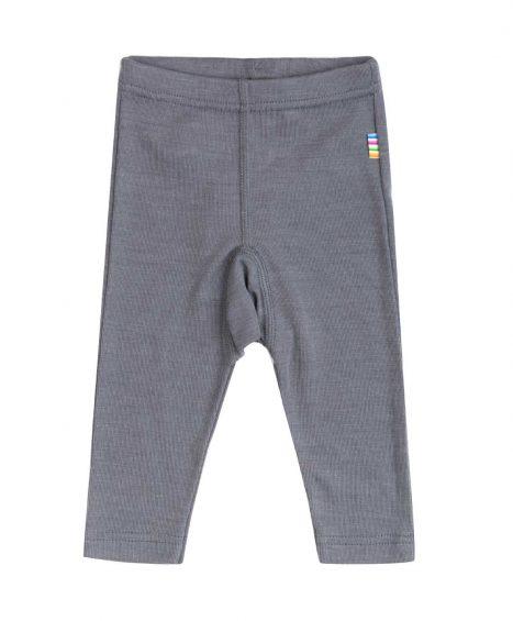 Bukser i uld/silke, grå fra Joha