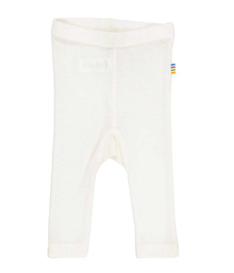 Bukser i uld/silke, natur fra Joha