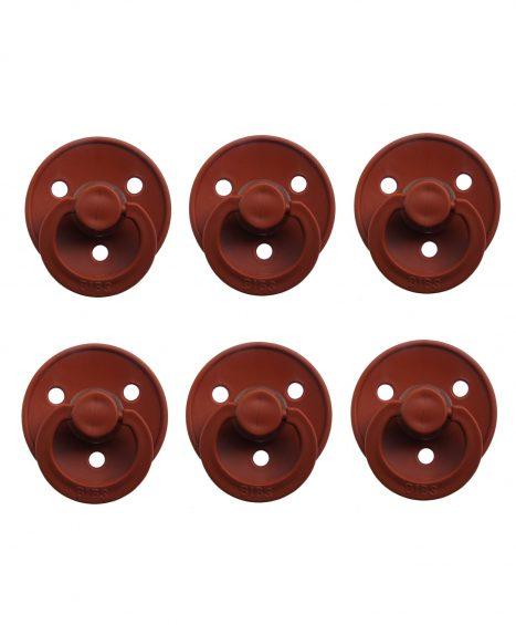 Sutter Bibs brun – rust (6 stk)
