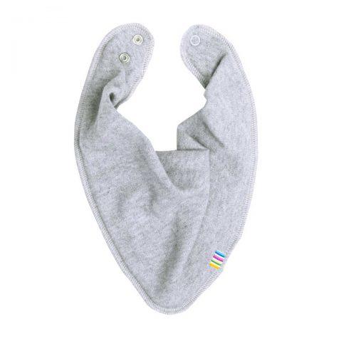 Savlesmæk/tørklæde bomuld/uld, grå fra Joha
