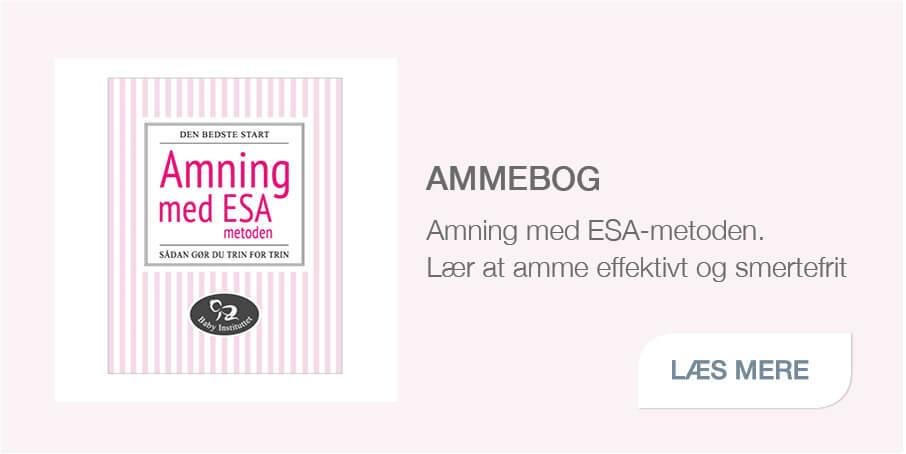 Baby Instituttets ammebog; Amning med ESA-metoden