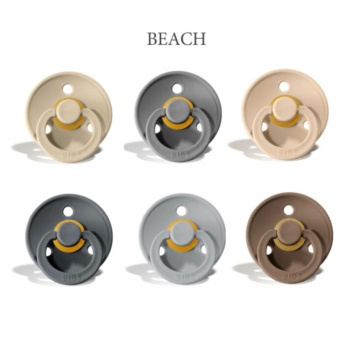 Bibs Colour 6 stk Beach – latex sutter i str. 2
