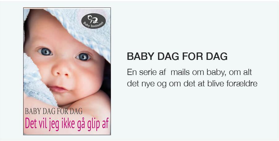 Få (næsten) daglige mails om din baby; Baby dag for dag