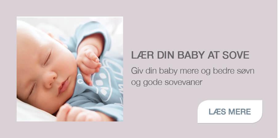 """Baby Instituttets """"Lær din baby at sove"""" sovetræning til babyer"""