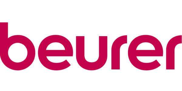 beurers logo på hvid baggrund