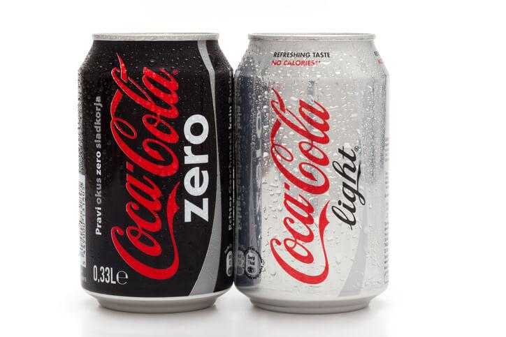 coca cola zero gravid