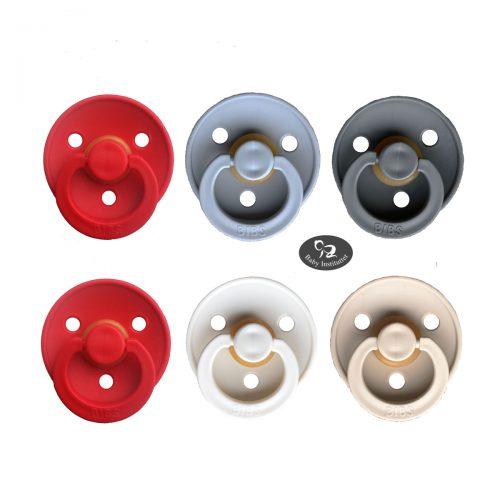 Sutter Bibs 6 stk – Babys JULE-mix med rød