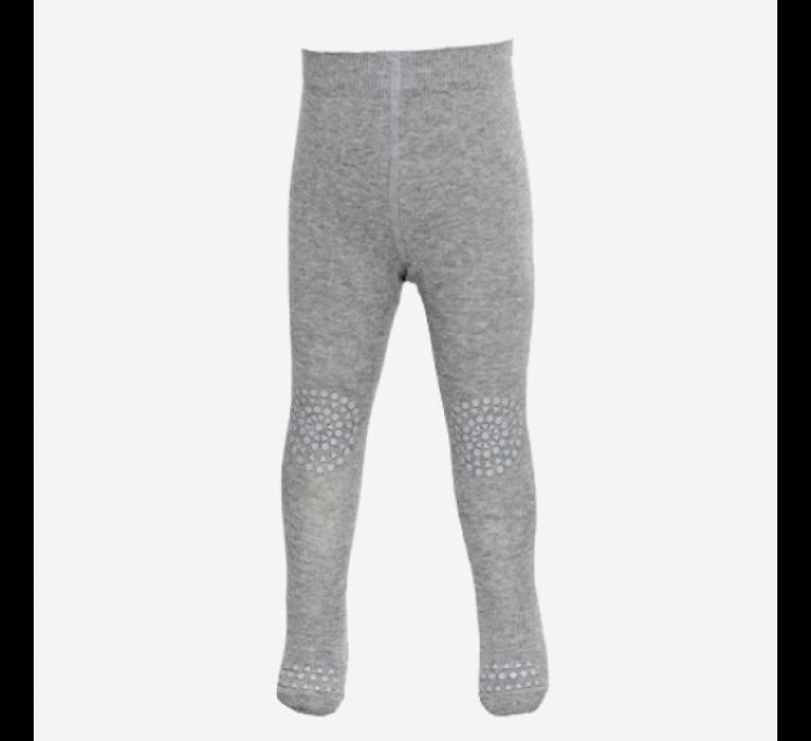 Strømpebukser non-slip i grå uld fra GoBabyGo