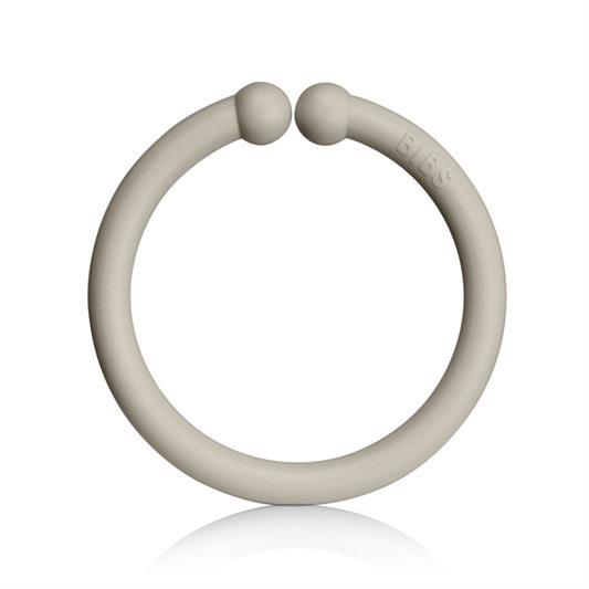 Loops lege ringe fra Bibs i blush, sand og vanilla (12 stk).