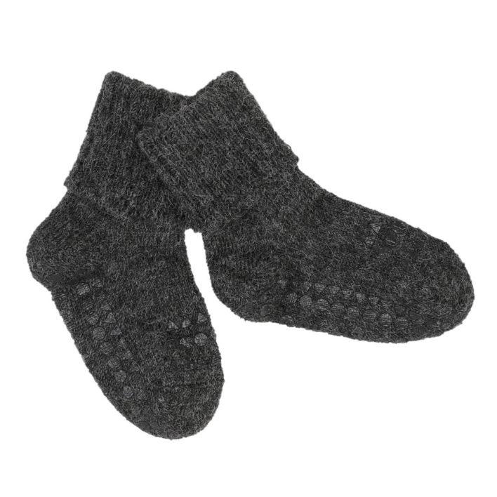 Kravle sokker i alpaka uld fra Gobabygo