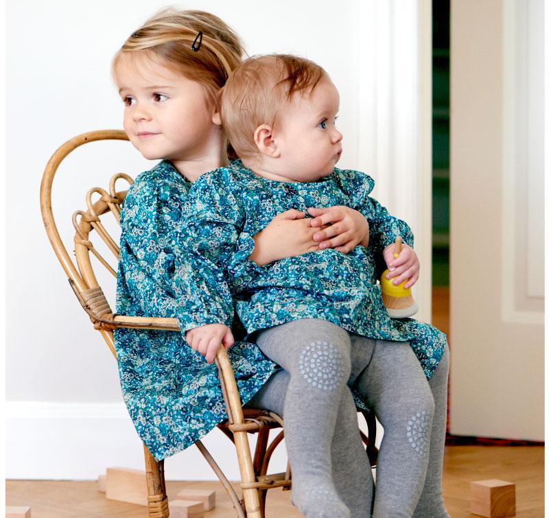 e0f81c1ec22 Skridsikre kravle leggings i uld, Koksgrå fra GoBabyGo