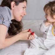 Kvantiteten og kvaliteten bestemmer din babys sprogudvikling