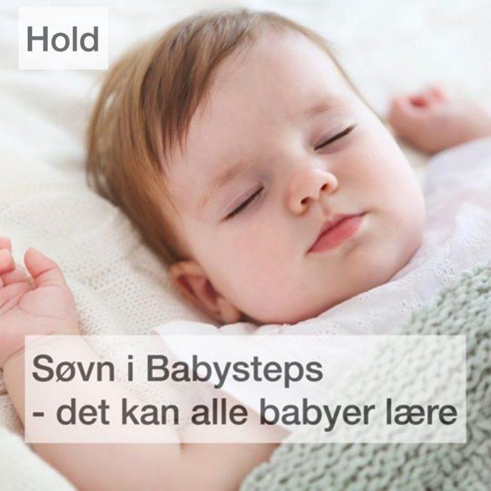 Søvn i babysteps – Baby Instituttets holdforløb med start den første fredag i måneden