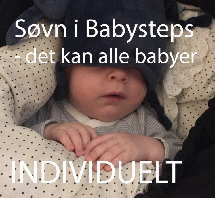 Søvn i babysteps – Baby Instituttets individuelle forløb, du er i gang, når du har betalt.