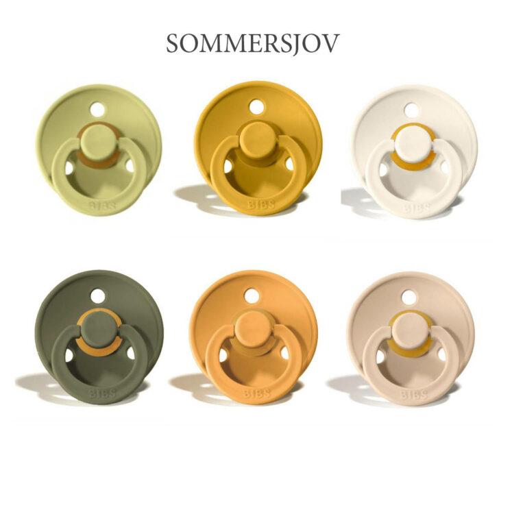 Bibs Colour 6 stk Sommersjov – latex sutter i str. 2